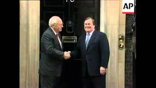 US vice president met by UK deputy PM