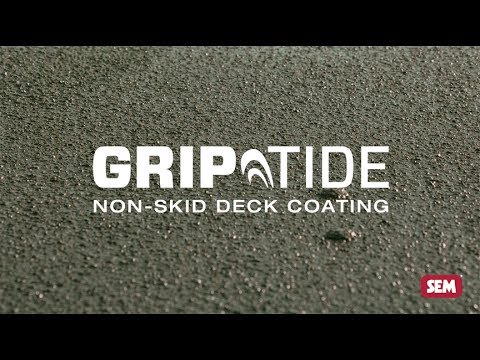How to apply GripTide™ Non-Skid Deck Coating