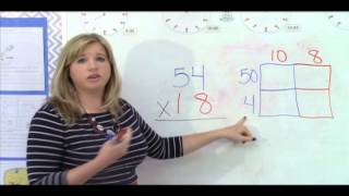 4th Grade Mathematics - Lesson 3: Multi-digit multiplication using the Area Array Model