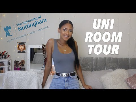 UNI ROOM TOUR 2018 | STUDENT DECOR IDEAS | Antoinette Victoria