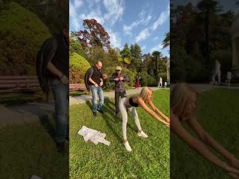 Непосредственно Каха: в парке