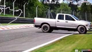 gt6 part 3 trucks 04 dodge ram 1500 4x4 quad cab nordschleife nurburgring