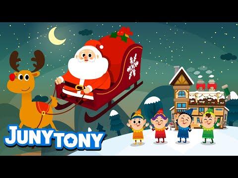 la-fábrica-de-papá-noel- -canción-de-navidad- -kids-song-in-spanish- -juny&tony