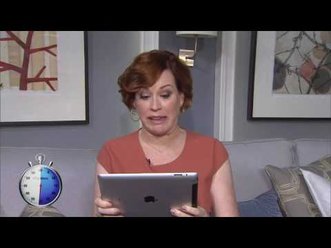 Video: 60-second challenge: Molly Ringwald