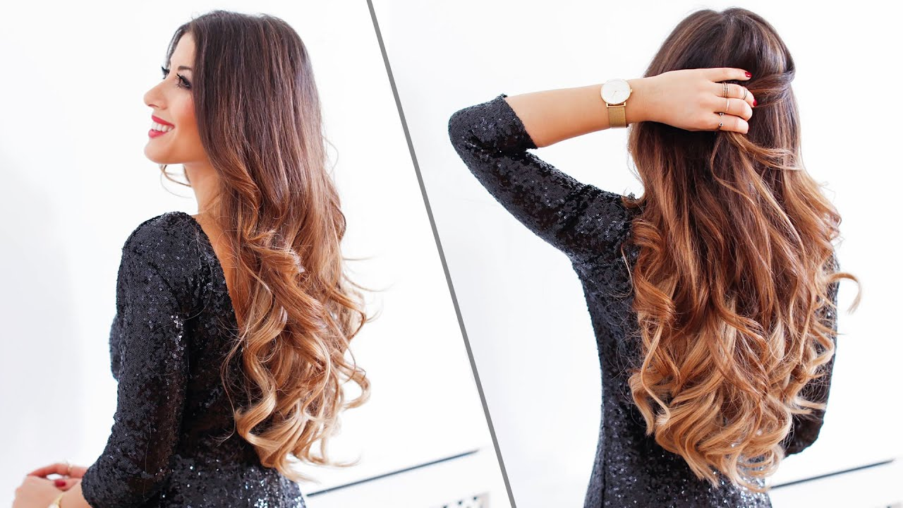 5 Minute Holiday Waves Luxy Hair Youtube