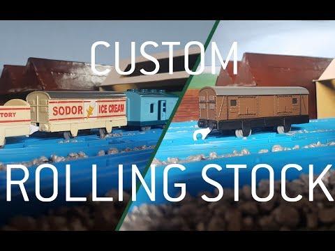 Assorted Custom Rolling Stock