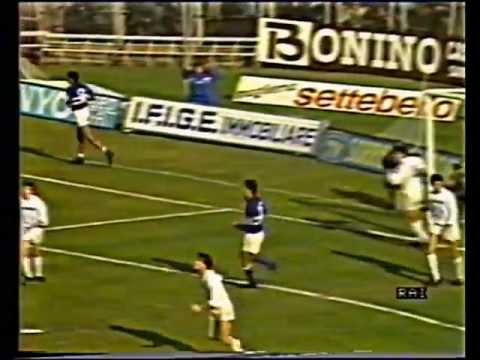 1986/87, Serie A, Sampdoria - Brescia 2-0 (23)
