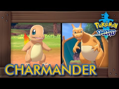 Pokémon Sword & Shield - How to Get Charmander