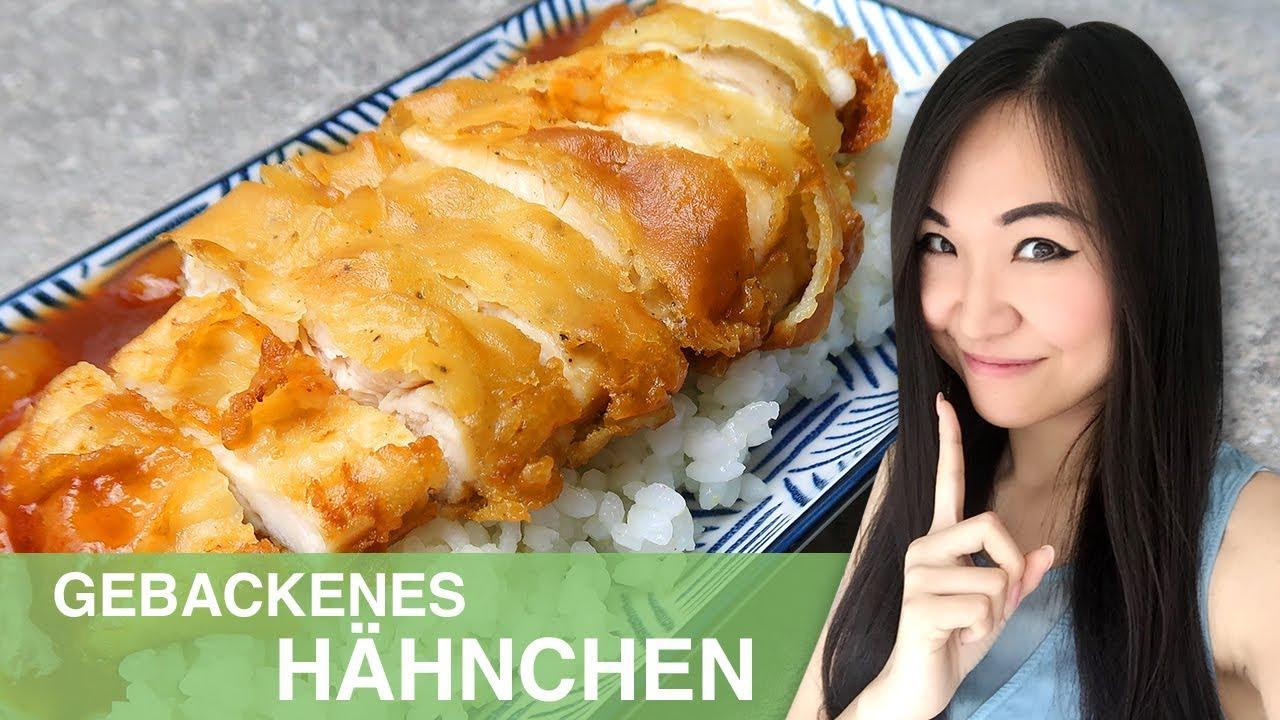 REZEPT: gebackenes Hähnchen süß sauer | chinesisches Essen wie im ...
