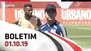 BOLETIM DE TREINO: 01.10   SPFCTV