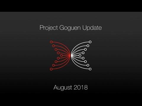 IOHK   PMO Project Goguen August 2018 Update