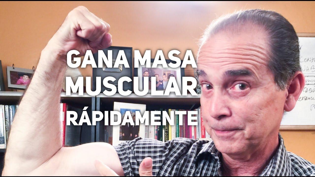 como aumentar masa muscular despues de los 60 años