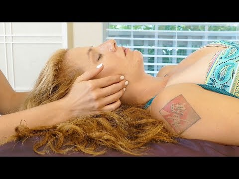 ASMR Massage with Melissa & Adrienne | Deep Relaxation Technique for Face & Scalp, Bodywork