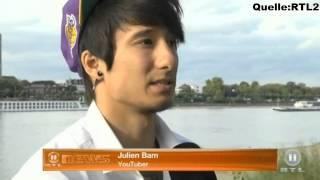 Longboard Tour-RTL2 (13.10.2014)  [Dner Julien Bam Unge Cheng]