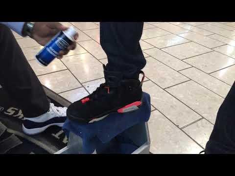 How to clean  Jordan 6