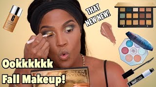 FULL FACE USING ALL NEW FALL MAKEUP | MAKEUPSHAYLA