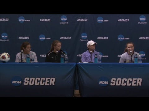 NCAA D-III Women's Soccer Championship Post Match Press Conference