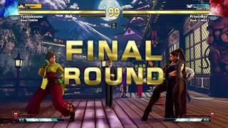 Destaque Seven Points SFV - Sakura vs Chun-li - Match 2