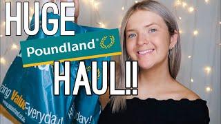 HUGE POUNDLAND HAUL! | NEW IN OCTOBER 2019 | MY BIGGEST ONE YET! | HARRIET MILLS