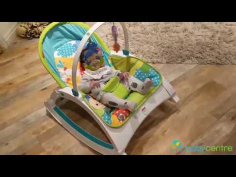Fisher-Price Newborn To Toddler Rocker - Review! (Sponsored)