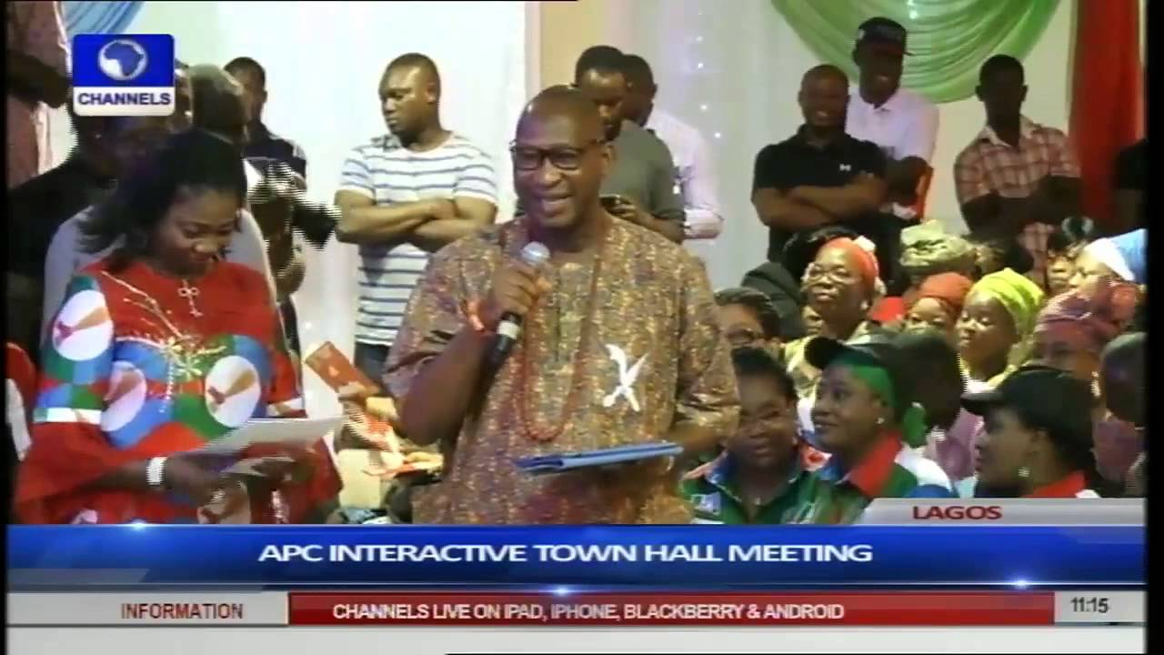Download Obahiagbon Sparks Laughter At Buhari Townhall With Women