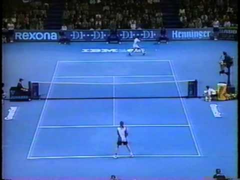 Chang vs Agassi ATP Championship Frankfurt 1994