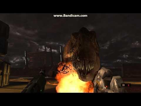 как убить тирекса в игре Turok