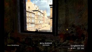 Sniper Elite V2 - PC demo gameplay highlights 1080p Ultra