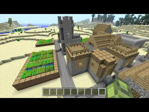 Minecraft Xbox 360 Edition 1.8.2 Creative Mode Gameplay With Commentary