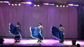 El Salvador Folk Dance  - South America Latino Festival ,Federation Square