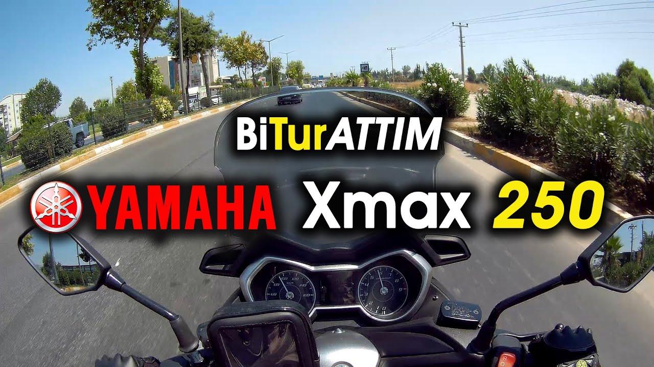 "Yamaha Xmax 250 İle ""Bi Tur Attım"""