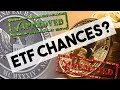 BITCOIN ETF: What Are The Chances Of Approval?