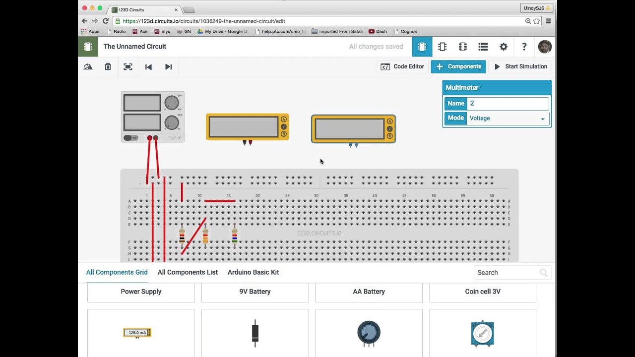 ENGR Lab1: Schematic Capture, Breadboard Simulation - YouTube