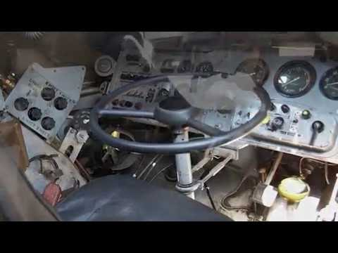 Inside the BTR-80: Soviet Amphibious Armoured Personnel Carrier