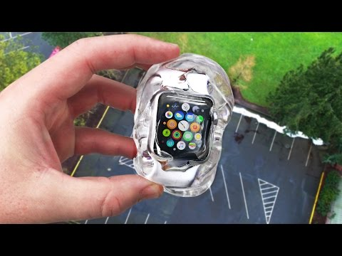 Can Liquid Glass Putty Protect Apple Watch 2 from 100 FT Drop Test?