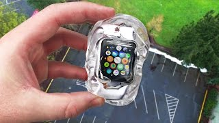 can liquid glass putty protect apple watch 2 from 100 ft drop test