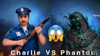 Horrorfield Game Super character! Charlie V.S Phantom! must watch!👍