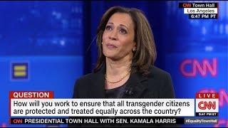 "Kamala Harris at CNN's Equality Town Hall: ""I hear you."""