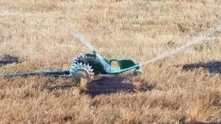 Tractor Sprinkler to the Rescue