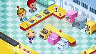 Kids Laundry Shop iOS/Android Gameplay Trailer By GameiMax