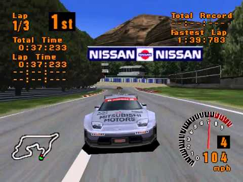 Gran Turismo (PS1) - GT World Cup with GTO LM - YouTube