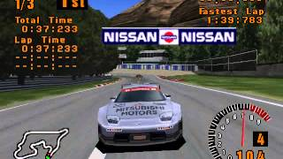 Gran Turismo (PS1) - GT World Cup with GTO LM
