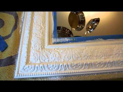 DIY: Chalk Paint Mirror Update!