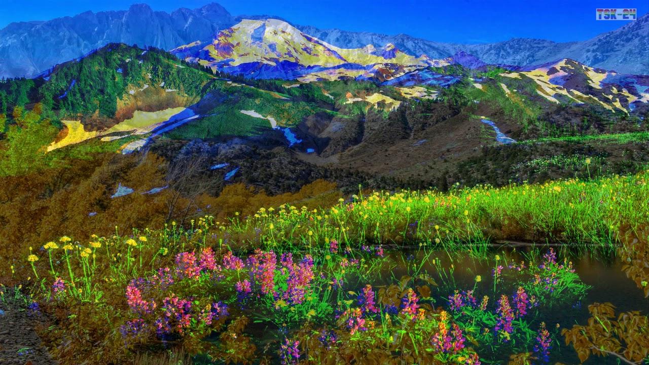 Springtime on the mountains youtube - Backgrounds springtime ...