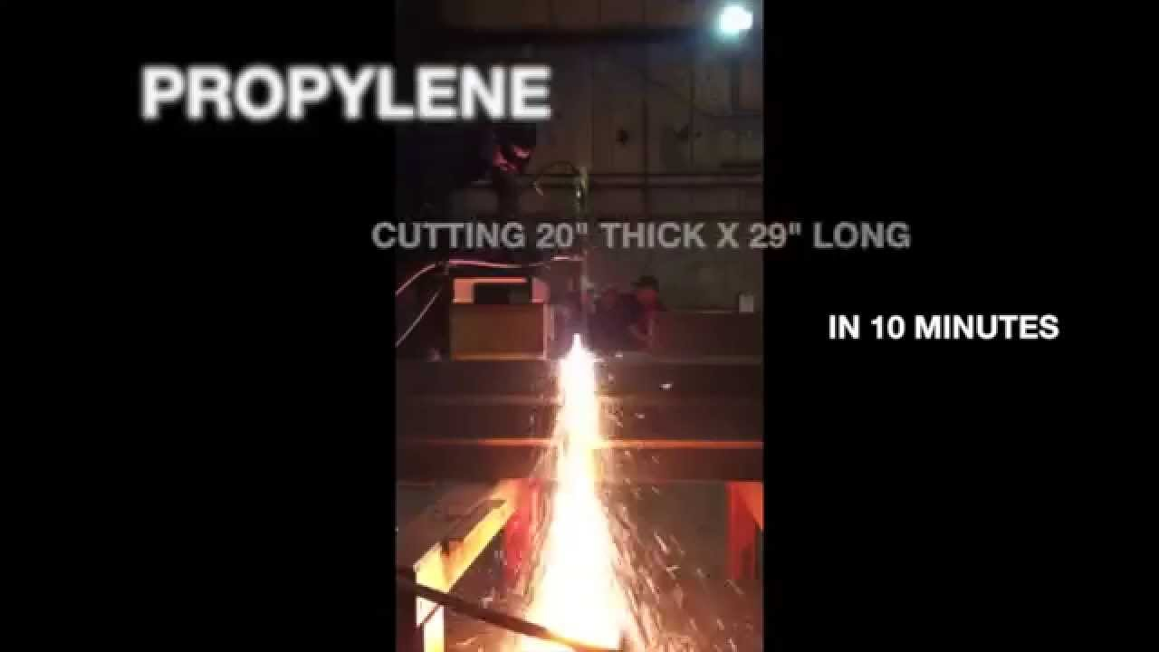 how to cut i beam with torch