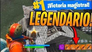 TODO LEGENDARIO! Fortnite: Battle Royale (El mejor Loot)