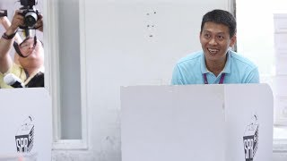 Balakong by-election: MCA's Tan casts his vote