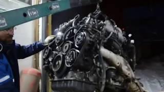 Приехал 1GZ нужна педаль газа от него, ну и не первый запуск BMW X7