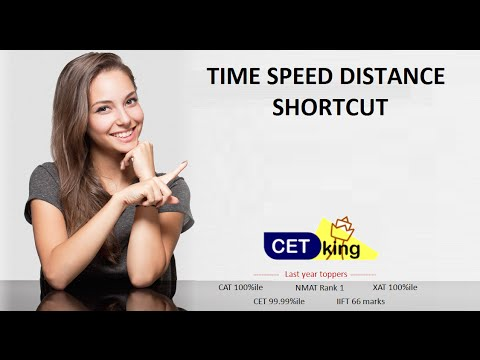 Time speed distance shortcuts by Cetking.com