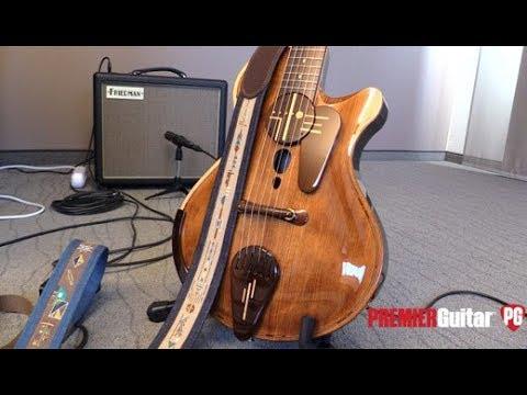 Holy Grail Guitar Show '18 - Jersey Girl Homemade Guitars Seevie & Takutack Demos